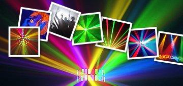 Quels jeux de lumière choisir pour animer des soirées?