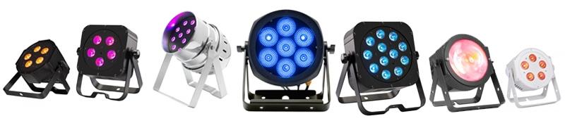 Projecteur à LED pour spectacle, éclairage de scène à LED, projecteur PAR à  LED   Levenly 517cad8ebc43