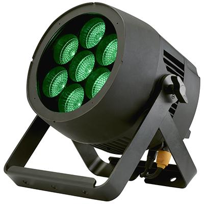 Projecteur étanche IPZOOM7x15QC Contest à double lyre de fixation