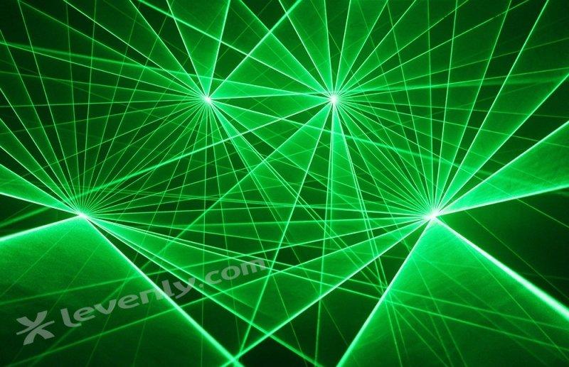 Laser Vert professionnel pour Showlaser