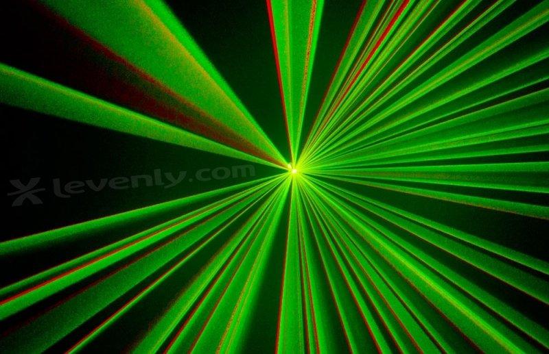 Laser Vert pour animations de Soirées DJ