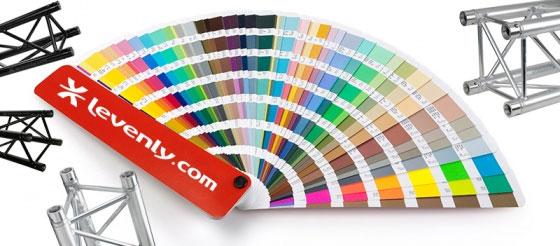 Mettre en couleur sa structure alu : toutes les infos