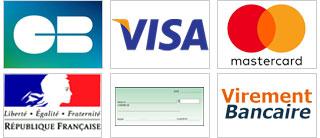 Nos modes de paiements