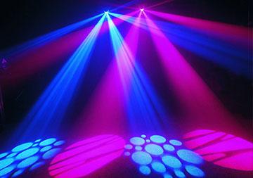 Effet lumineux à LEDs pour soirées entre amis