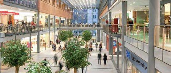 Sonorisation Public Address pour galerie commerciale