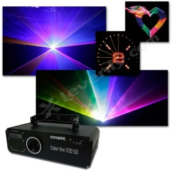 Acheter COLOR FIRE 700 SD, LASER COULEURS GHOST