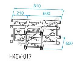 Acheter H40V-C017, ANGLE ALU 3 DIRECTIONS PROLYTE