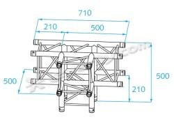 Acheter H30V-C020, ANGLE ALU 4 DIRECTIONS PROLYTE