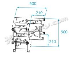 Acheter H30V-C012, ANGLE ALU 3 DIRECTIONS PROLYTE