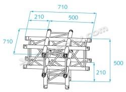 Acheter H30V-C024, ANGLE ALU 5 DIRECTIONS PROLYTE