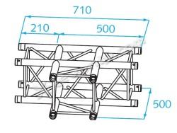 Acheter H30V-C017, ANGLE ALU 3 DIRECTIONS PROLYTE