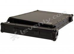 Acheter RACK-PRO-1U, FLIGHT CASE NOIR BLACK CASE