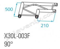 Acheter X30L-C003F, ANGLE ALU 2 DIRECTIONS PROLYTE