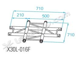 Acheter X30L-C016F, ANGLE ALU 4 DIRECTIONS PROLYTE