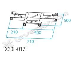 Acheter X30L-C017F, ANGLE ALU 3 DIRECTIONS PROLYTE