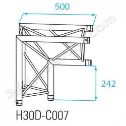 Acheter H30D-C007, ANGLE ALU 2 DIRECTIONS PROLYTE