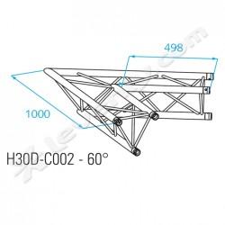 Acheter H30D-C002, ANGLE ALU 2 DIRECTIONS PROLYTE