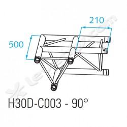 Acheter H30D-C003, ANGLE ALU 2 DIRECTIONS PROLYTE