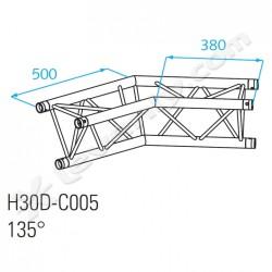 Acheter H30D-C005, ANGLE ALU 2 DIRECTIONS PROLYTE