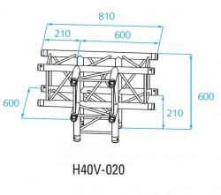 Acheter H40V-C020, ANGLE ALU 4 DIRECTIONS PROLYTE