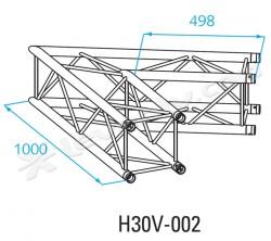 Acheter H30V-C002, ANGLE ALU 2 DIRECTIONS PROLYTE