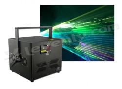 Acheter RGB 8000 + FLIGHTCASE, LASER MULTICOULEURS DNA
