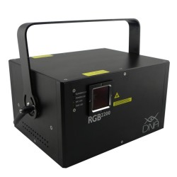 Acheter RGB 2200 + FLIGHTCASE, LASER MULTICOLORE DNA
