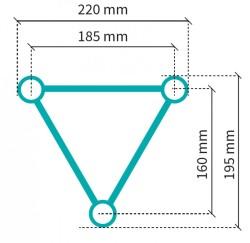Acheter S22T-C201, STRUCTURE ALUMINIUM STAND SIXTY82