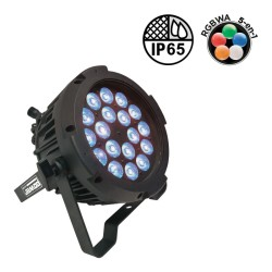 Acheter PAR SLIM 18X10W IP65 PENTA25, PROJECTEUR ARCHI À LED POWER LIGHTING