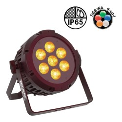Acheter PAR SLIM 7X10W IP65 PENTA, PROJECTEUR ARCHI À LED POWER LIGHTING