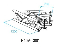 Acheter H40V-C001, ANGLE ALU 2 DIRECTIONS PROLYTE