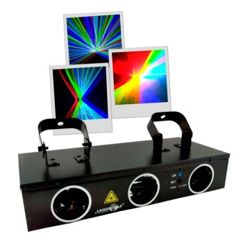 Acheter EL-200RGB, LASER MULTICOLORE LASERWORLD au meilleur prix sur LEVENLY.com