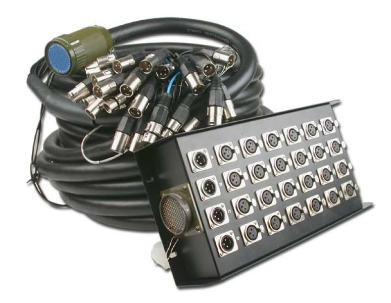 Audiophony BS24/4-30 : boitier de scène 24f / 4m longueur 30m
