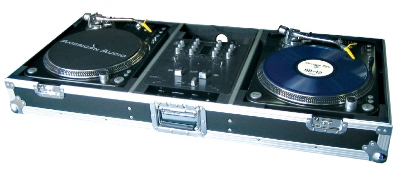 American audio ttsys case r gie pour platine vinyle - Meuble pour table de mixage ...