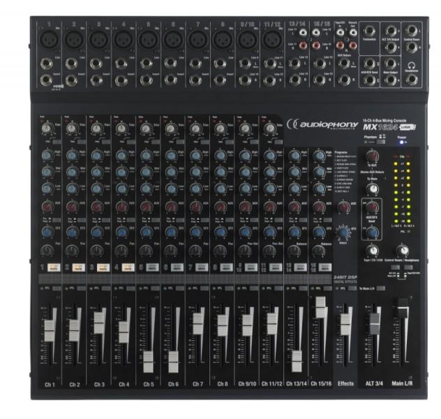 Audiophony Mx1624 Console De Sc 232 Ne Compl 232 Te Et Ergonomique