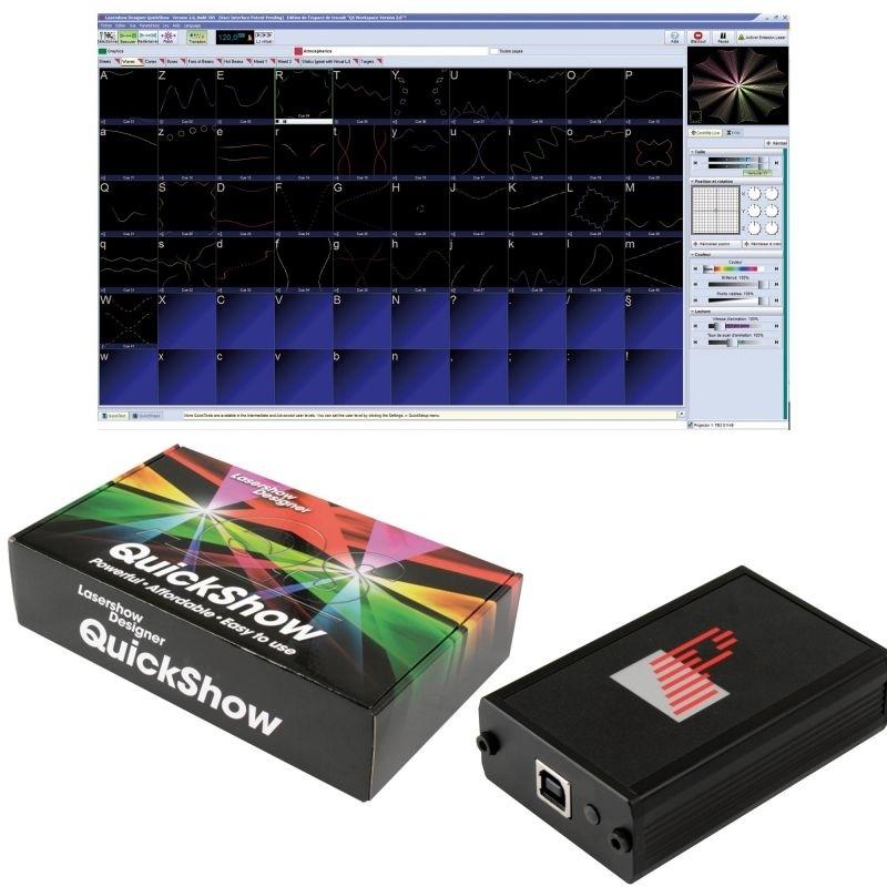 pangolin quickshow   logiciel de cr u00e9ation et gestion laser