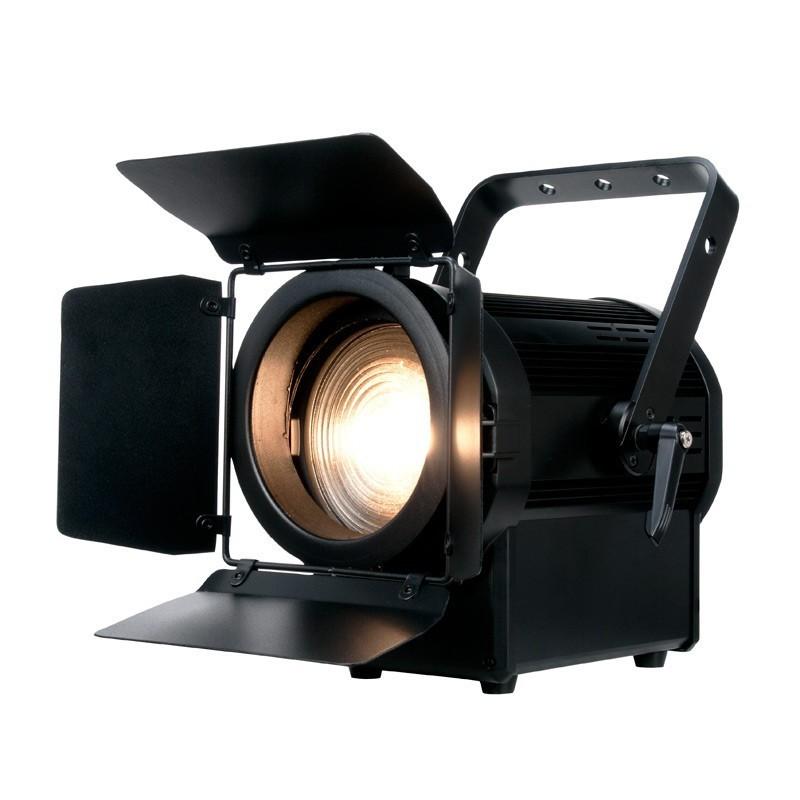 adj encore fr150z projecteur fresnel led blanc chaud de 130w. Black Bedroom Furniture Sets. Home Design Ideas