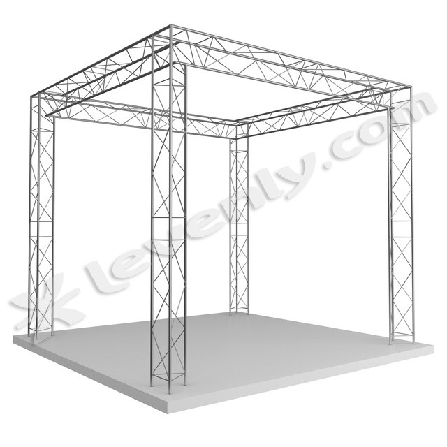 Duratruss stand structure alu 5 x 4 x 3 for Structure stand salon