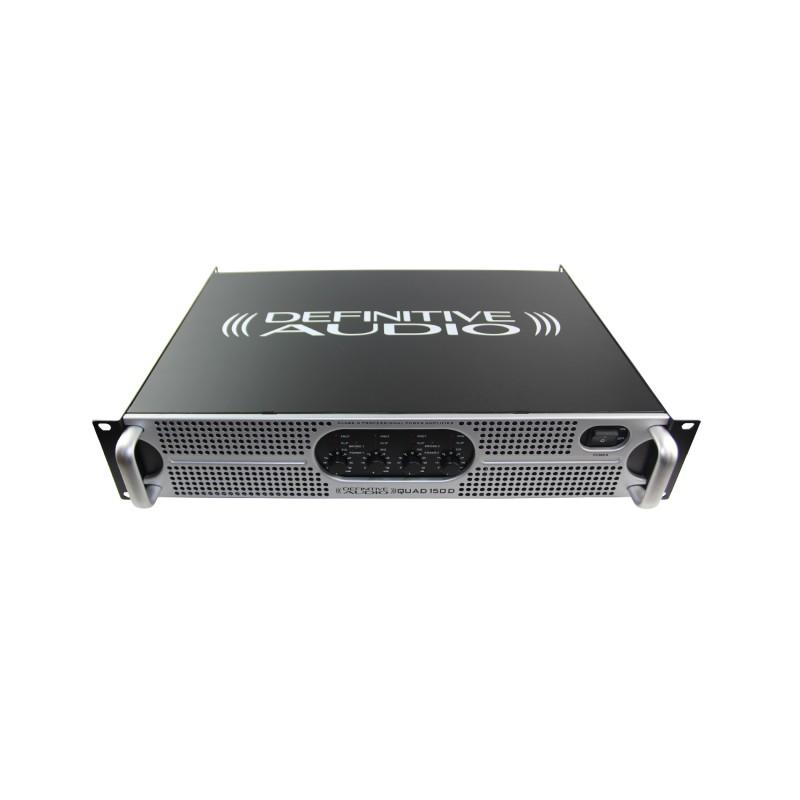 definitive audio quad 150d ampli sono 4 x 110w rms sous 8 ohms. Black Bedroom Furniture Sets. Home Design Ideas