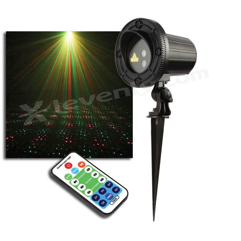 Projecteur laser de no l venus garden 130rg levenly for Laser decoratif exterieur