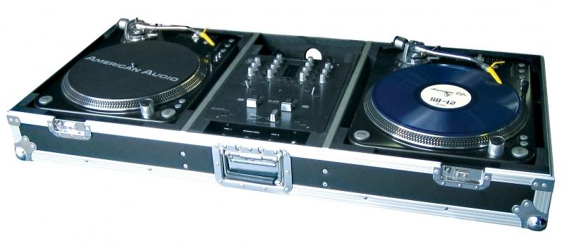 American audio ttsys case r gie pour platine vinyle - Table de mixage vinyle ...