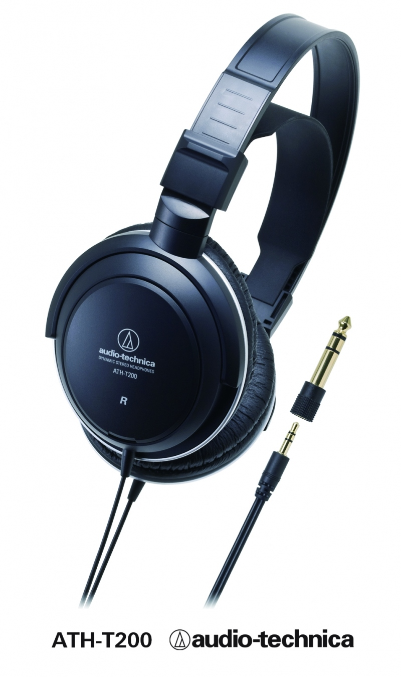 audio technica ath 200 casque studio double serre t te ajustable. Black Bedroom Furniture Sets. Home Design Ideas