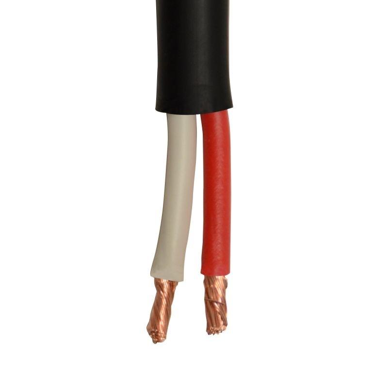 black cable bobine cable haut parleur 2 x 2 5. Black Bedroom Furniture Sets. Home Design Ideas