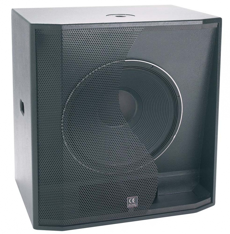 audiophony cb118 caisson basse passif 400w rms hp 46cm. Black Bedroom Furniture Sets. Home Design Ideas