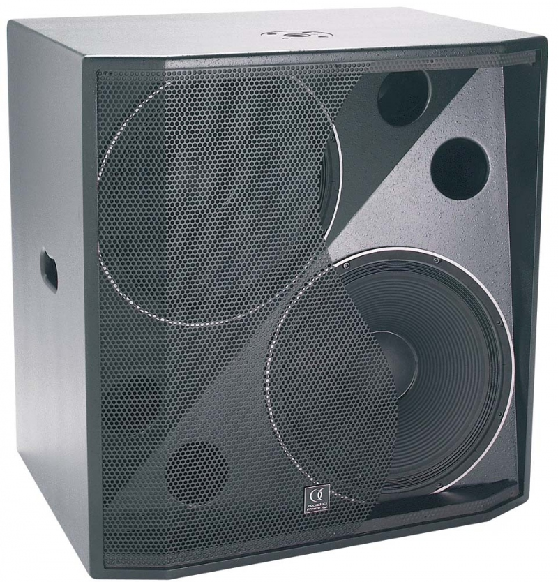 audiophony cb215 caisson basse passif 800w rms hp 38cm. Black Bedroom Furniture Sets. Home Design Ideas