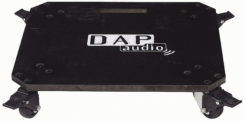 dap audio plateau a roulette plateau roulettes pour rack 19. Black Bedroom Furniture Sets. Home Design Ideas
