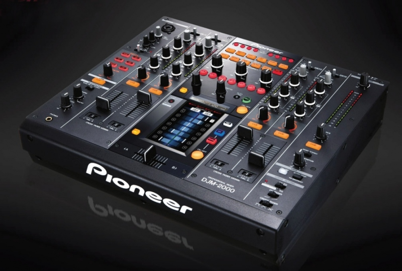 pioneer djm2000 table de mixage pro 4 voies num riques. Black Bedroom Furniture Sets. Home Design Ideas