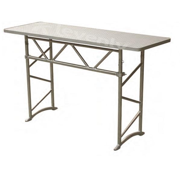 table pliante aluminium dj table de lit. Black Bedroom Furniture Sets. Home Design Ideas