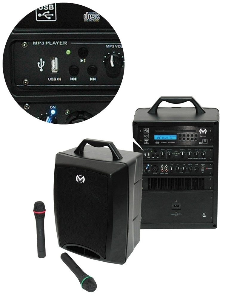 mac mah express sonorisation portable autonome 80w rms. Black Bedroom Furniture Sets. Home Design Ideas