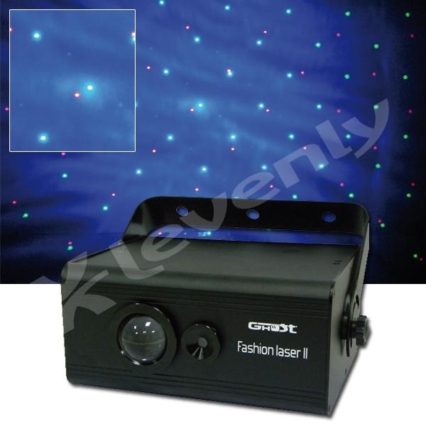 Ghost fashion laser ii laser rouge et vert led bleu for Laser decoratif exterieur